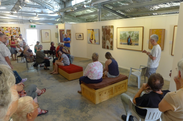 Walk in the Art - Artists' Talks