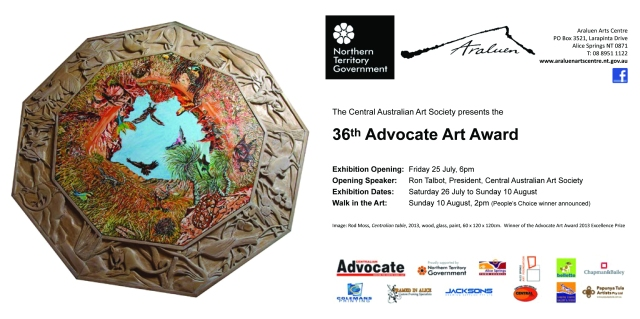 Advocate Art Award Invite 2014 for Email