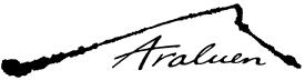 Araluen Logo Black with White Background